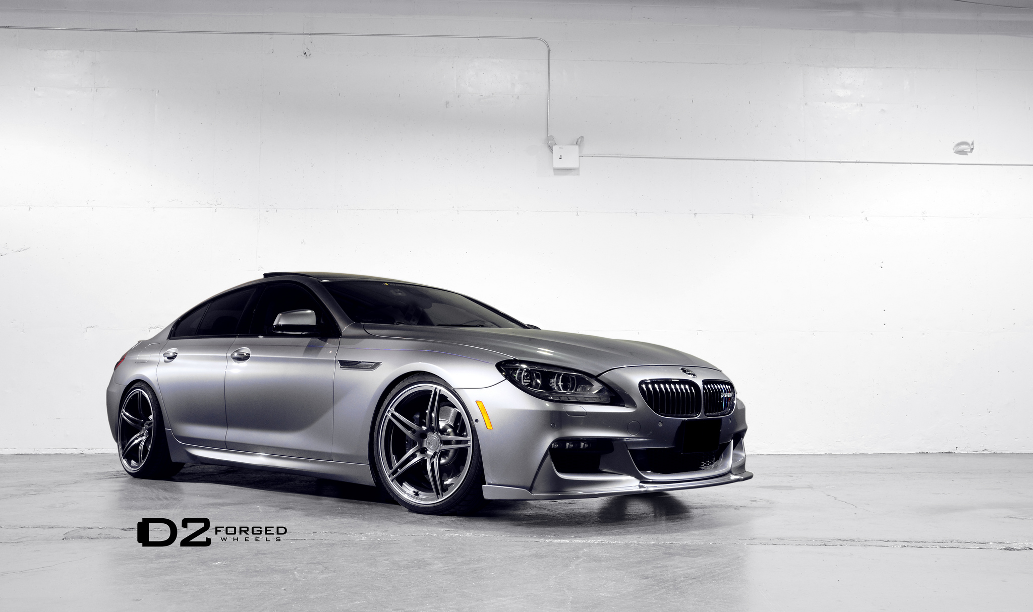 BMW Seria 6 Gran Coupe cu jante D2Forged MB3