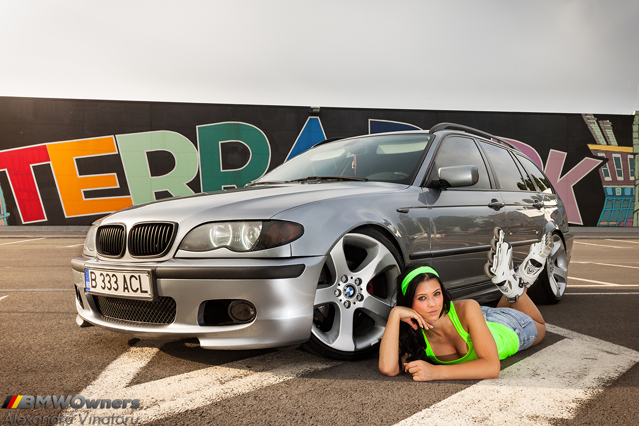 Bimmer And Babe Bmw E46 Touring Si Andreea Stiri Bmw