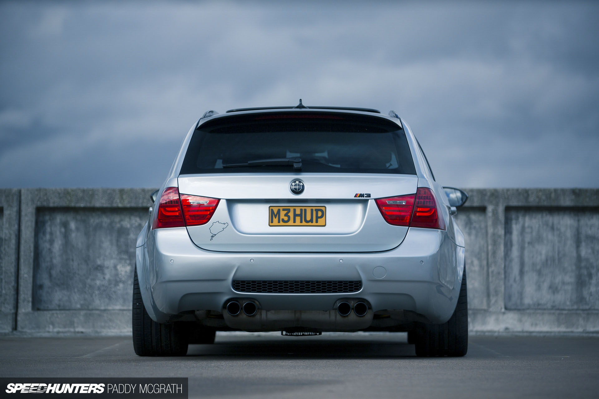 Bmw E91 M3 Touring By Nick Pritchard Stiri Bmw Tuning