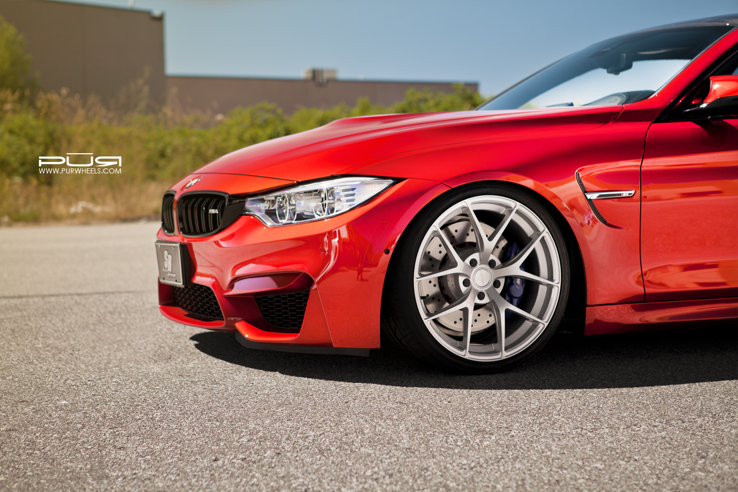 Bmw M4 Sakhir Orange By Pur Wheels Stiri Bmw Tuning Bmw