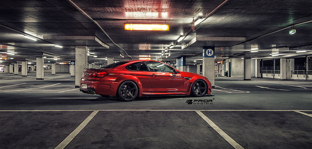 BMW Seria 6 Widebody by Prior Design