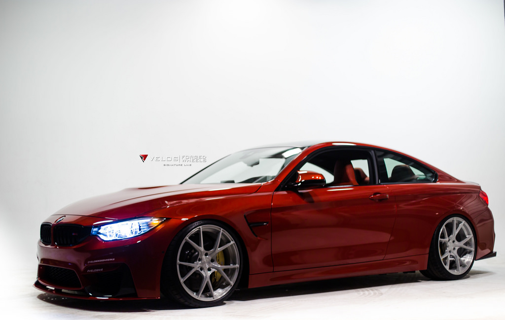 BMW M4 Sakhir Orange by Velos